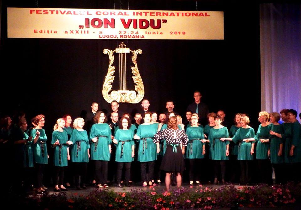 Internacionalni horski festival Ion Vidu Rumunija 2018 1