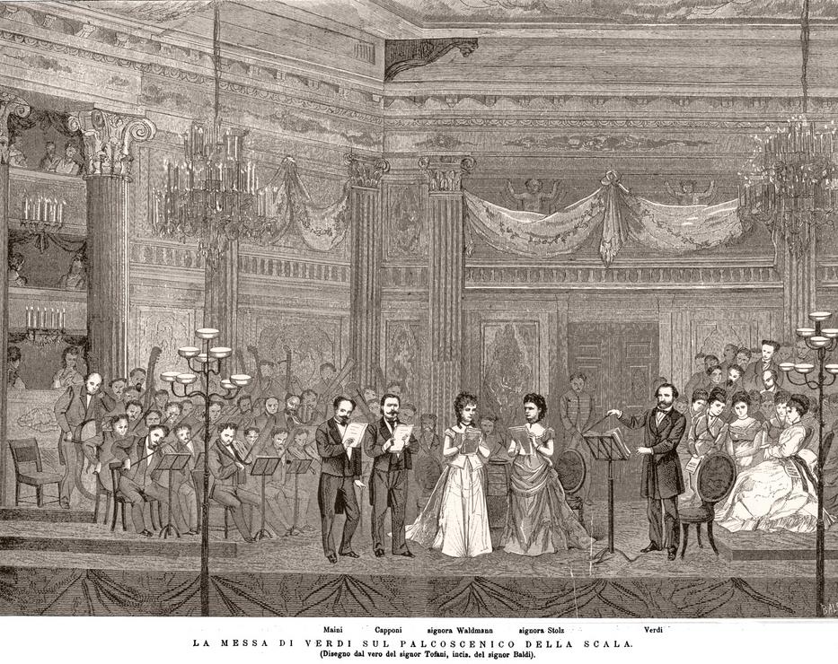Verdi diriguje rekvijem