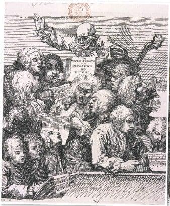 Duborez iz srednjeg veka maestra i muzicara